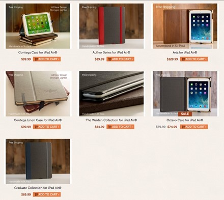 PadandQuill iPad Air Cases