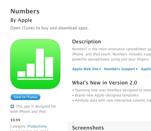 What The? iWork iOS Apps Showing as Not Free Anymore