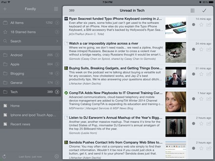 Mr Reader iPad app