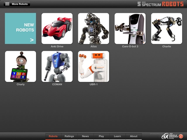 Robots for iPad Updated: More New Robots