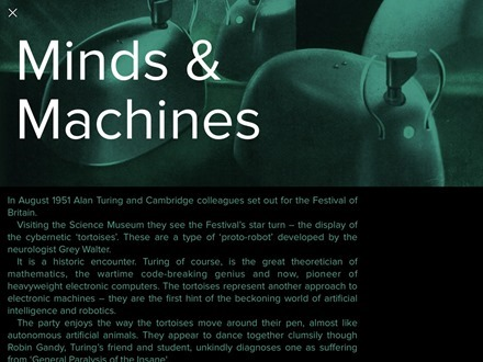 Section Minds and Machines