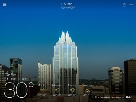 Yahoo Weather Austin