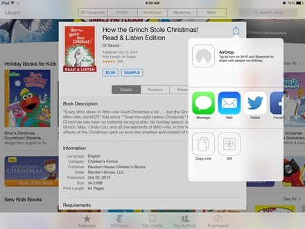 iBooks Gift a Book