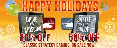 iPad wargames Holiday sale