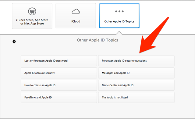 What To Do When you Forget the Answers to Your Apple ID Security Questions