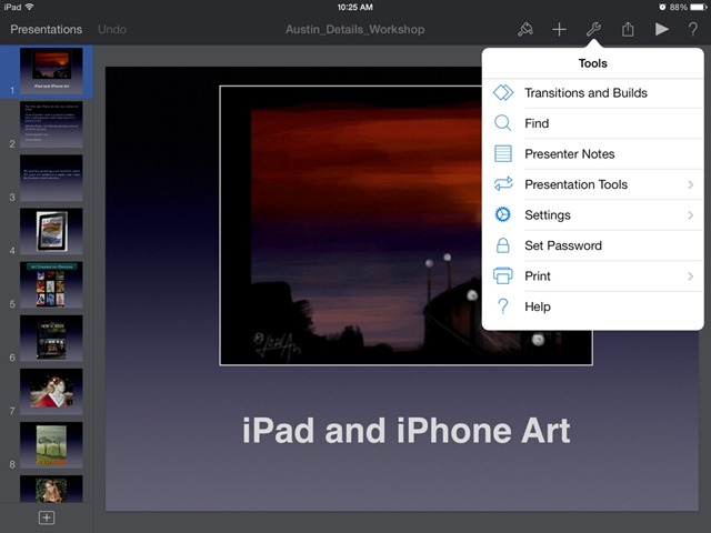 iWork Apps for iPad Updated: Password Protection for Files & New Features Added