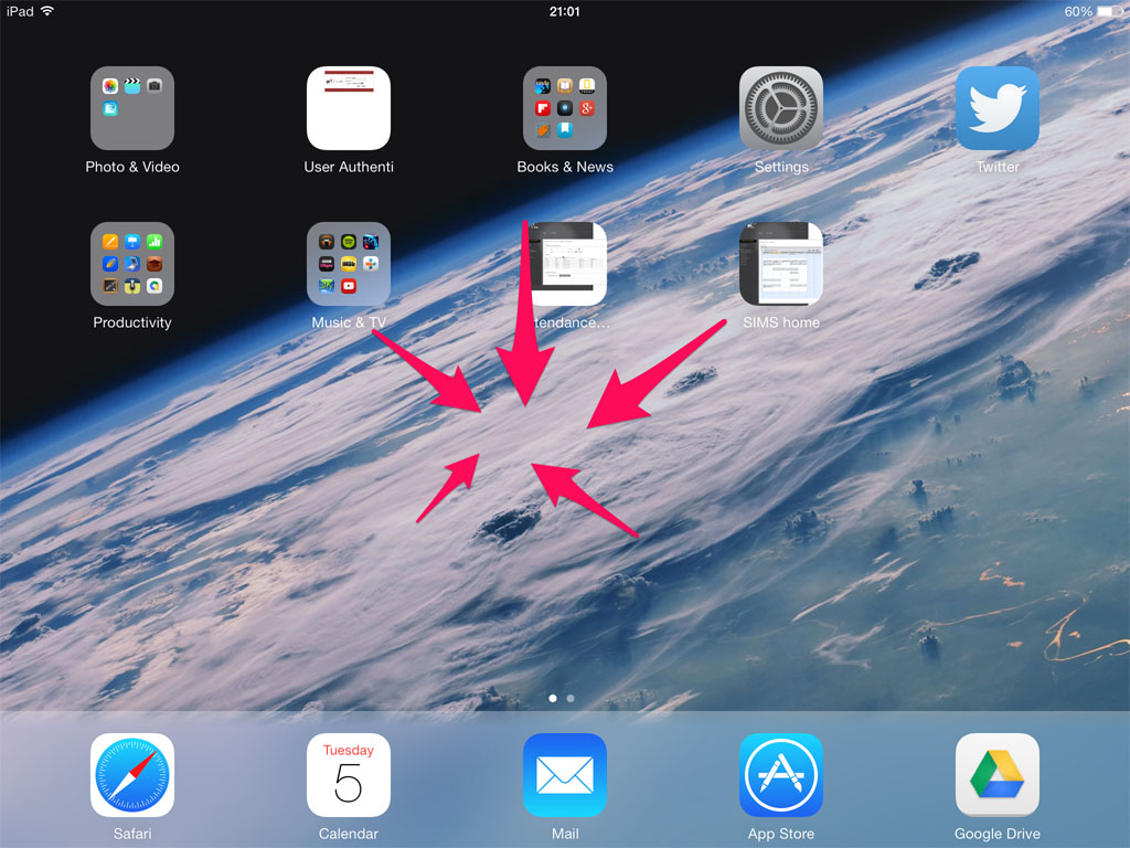 iPad Tips: iOS 7 Gesture Guide