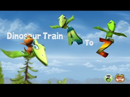 Dinosaur Train A to Z iPad app