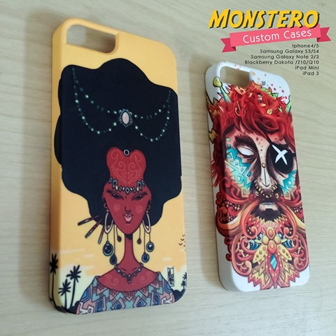Cool Things: Monstero iPhone / iPad Cases Designed on an iPad