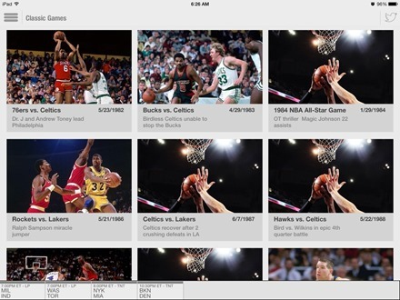 NBA Game Time for iPad