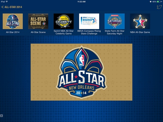NBA Game Time iPad App Updated for All-Star Weekend