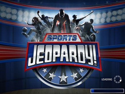 Sports Jeopardy iPad app