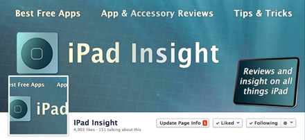 iPad Insight Facebook Page