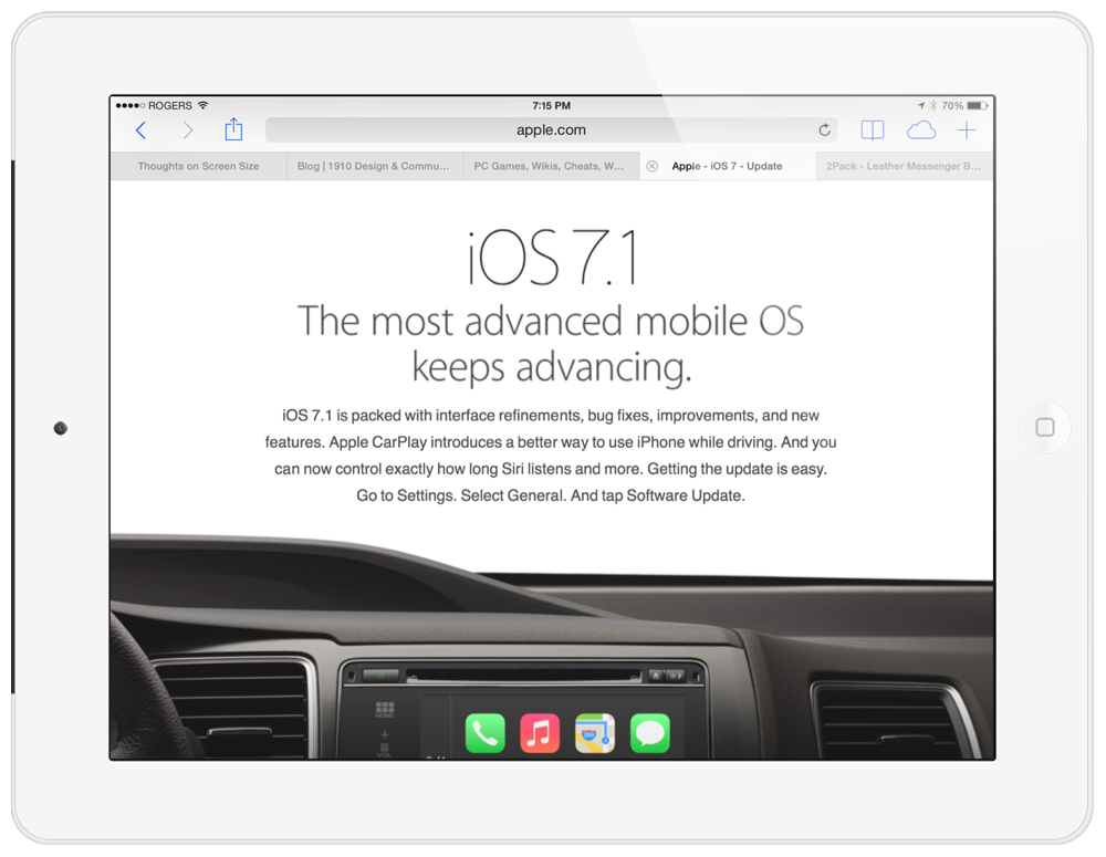iOS 7.1 for iPad Is Faster, More Stable, And Ready For Download Now