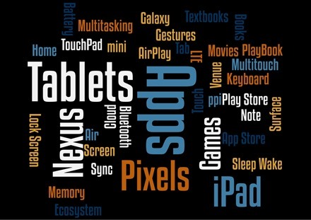 Wordsalad iPad app