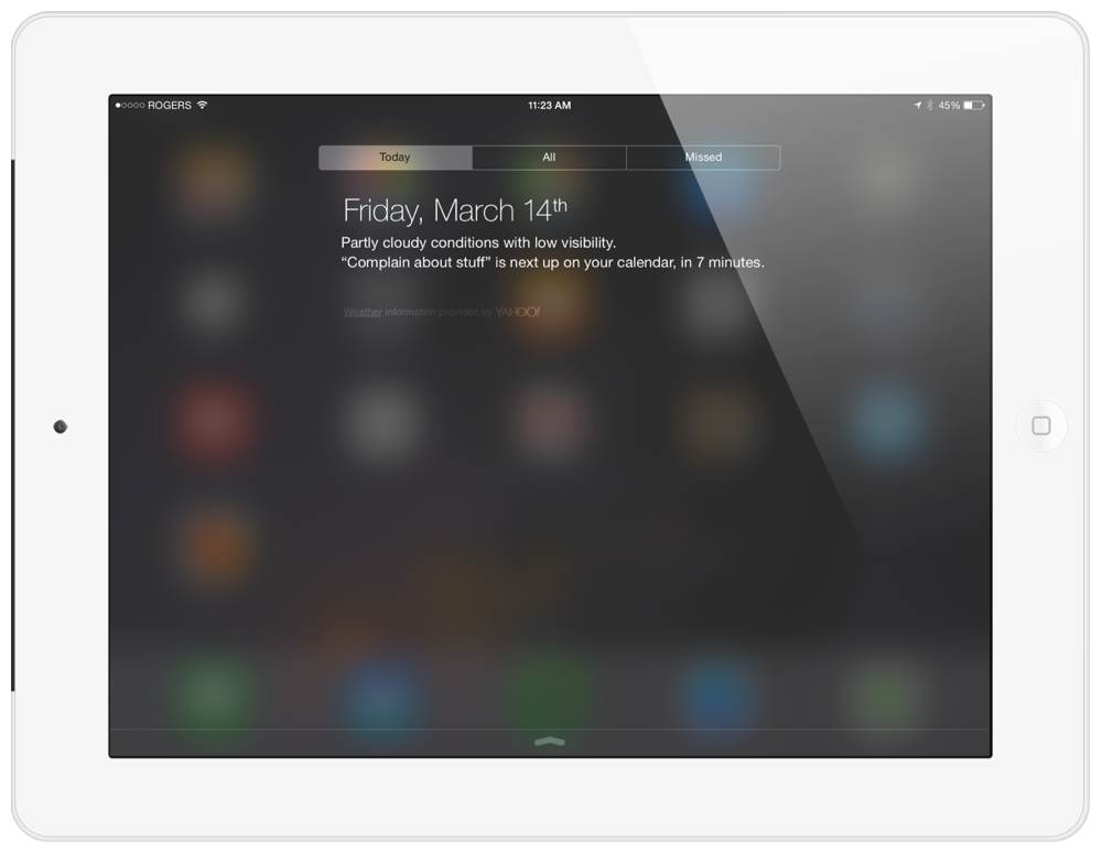 Quick Rant: The iPad's Incredibly Vague Weather Widget
