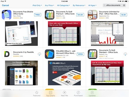 iPad Office Apps