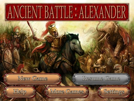 Ancient Battle Alexander for iPad