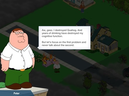 Family Guy Quest for Stuff iPad app
