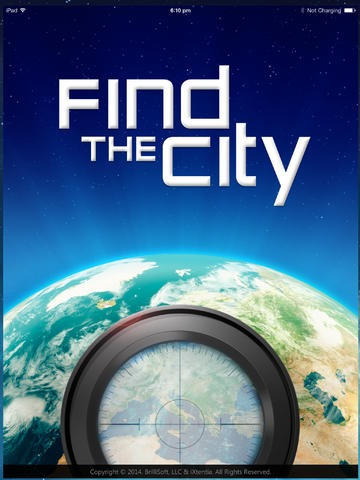 iPad App of the Week: Find the City