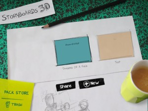 storyboards header