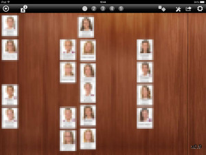 Seating plan with bulk imported photos