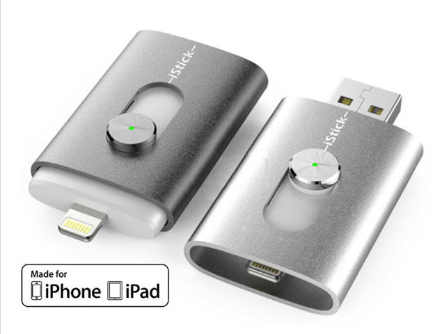 iStick: World's First USB Flash Drive with Lightning Connector for iPad and iPhone