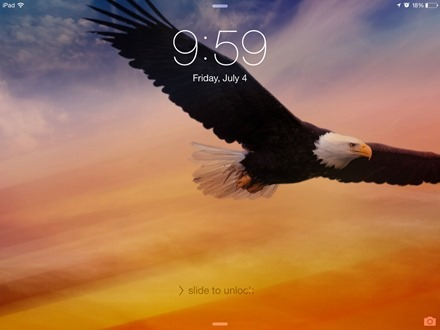 Eagle 4th iPad wallpaper