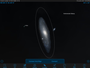 how to find something in a telescope