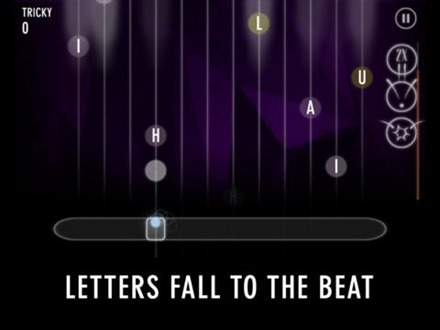 Letters Fall to the Beat