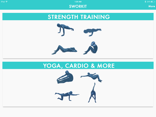 Review: Sworkit for iPad