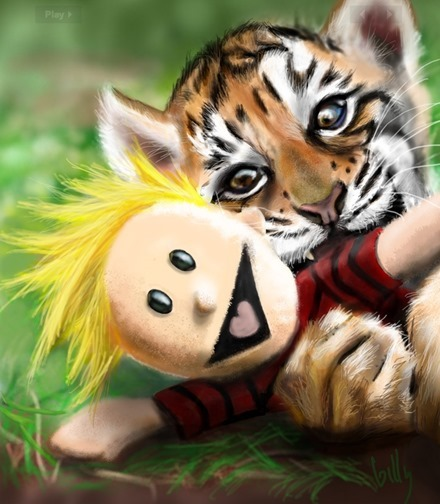 Tiger and Toy by Billy Duron III