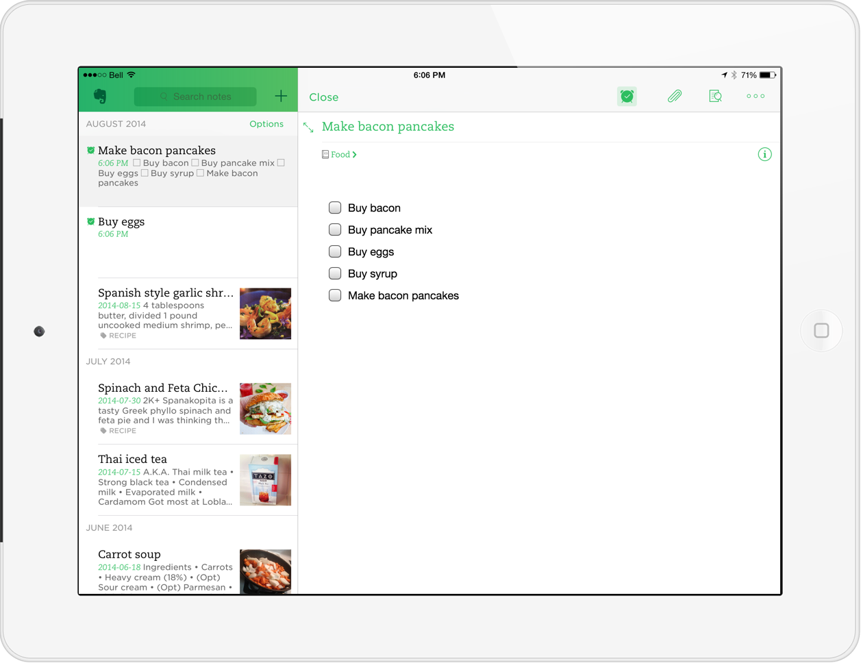 Evernote As My iPad Task Manager