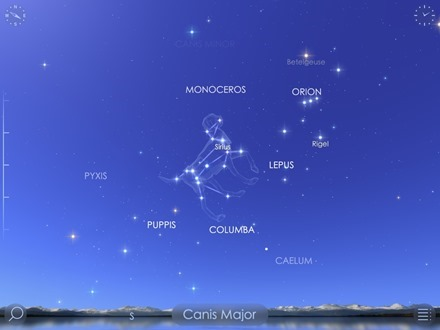 Star Walk 2 iPad app