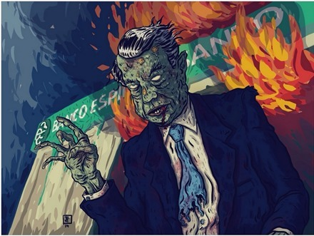 The Zombie Banker