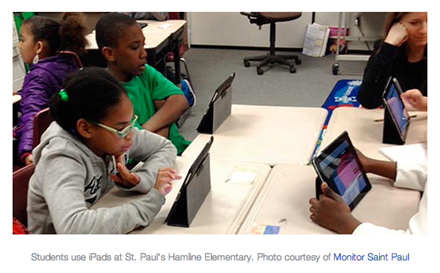 iPads at St. Paul Elementary School