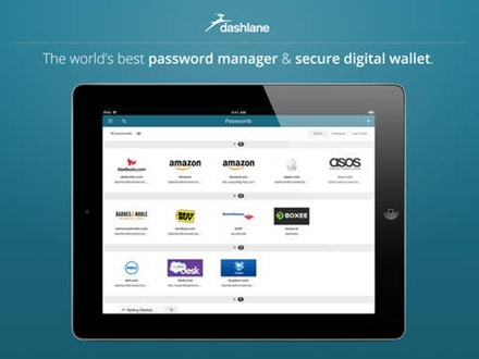 Dashlane for iPad