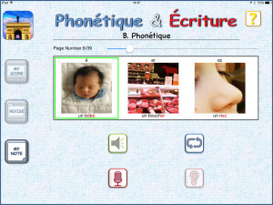 Phonics section