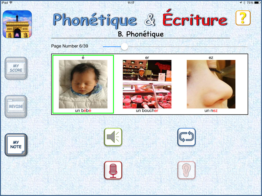 Studying French? Triomphe iPad Review