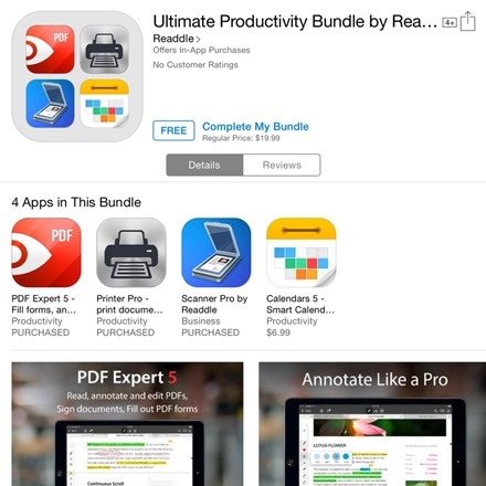 Ultimate Productivity Bundle by Readdle