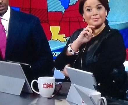 CNN iPad with Surface Stand
