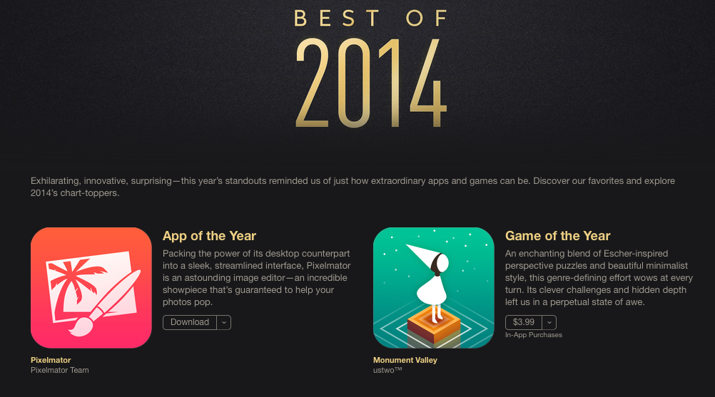 Apple's Choices for Best iPad Apps & Games of the Year