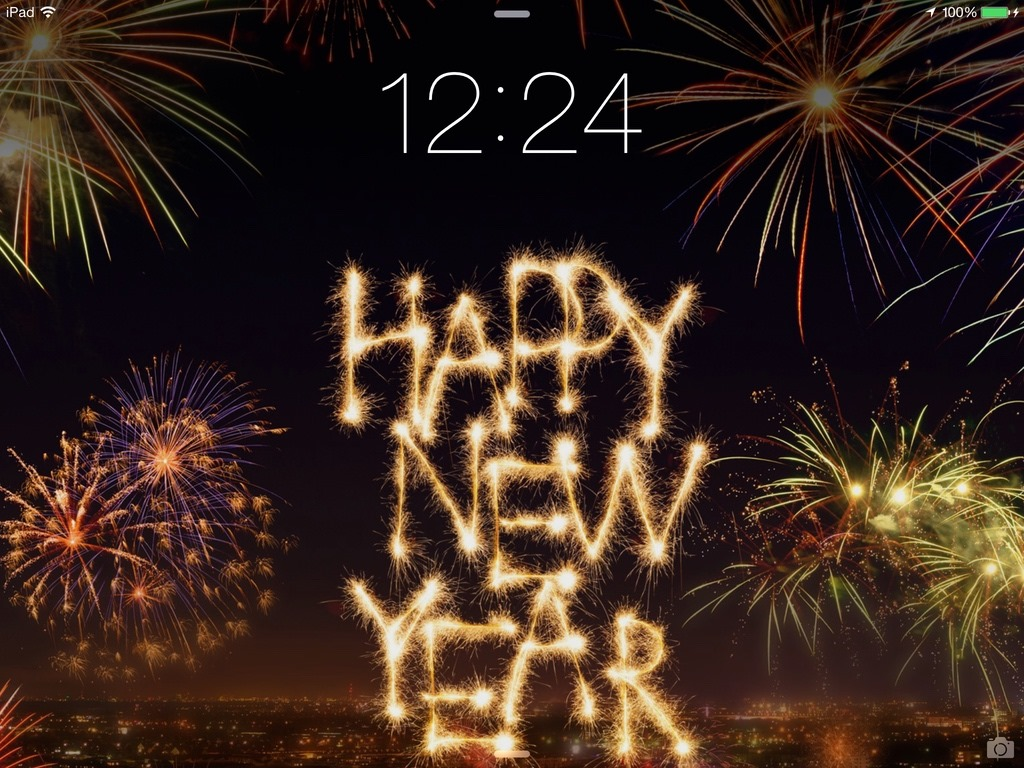 Happy New Year Ipad Wallpaper