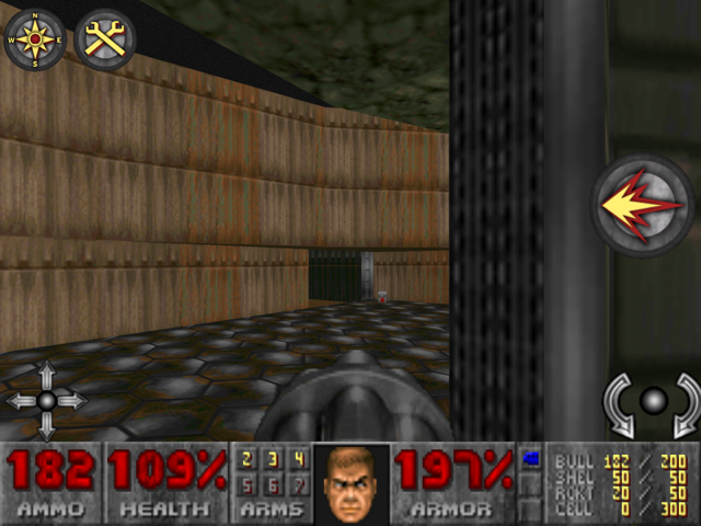 Time travel to 1993. And shoot things: DOOM for iPad