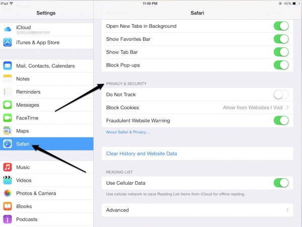 Privacy-and-Security-iPad-settings