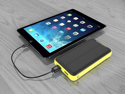 ZeroLemon Solar Charger for iPad