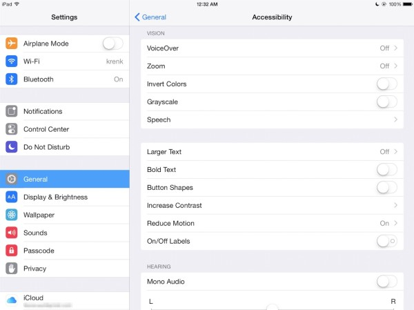 The (5) most useful accessibility features on the iPad