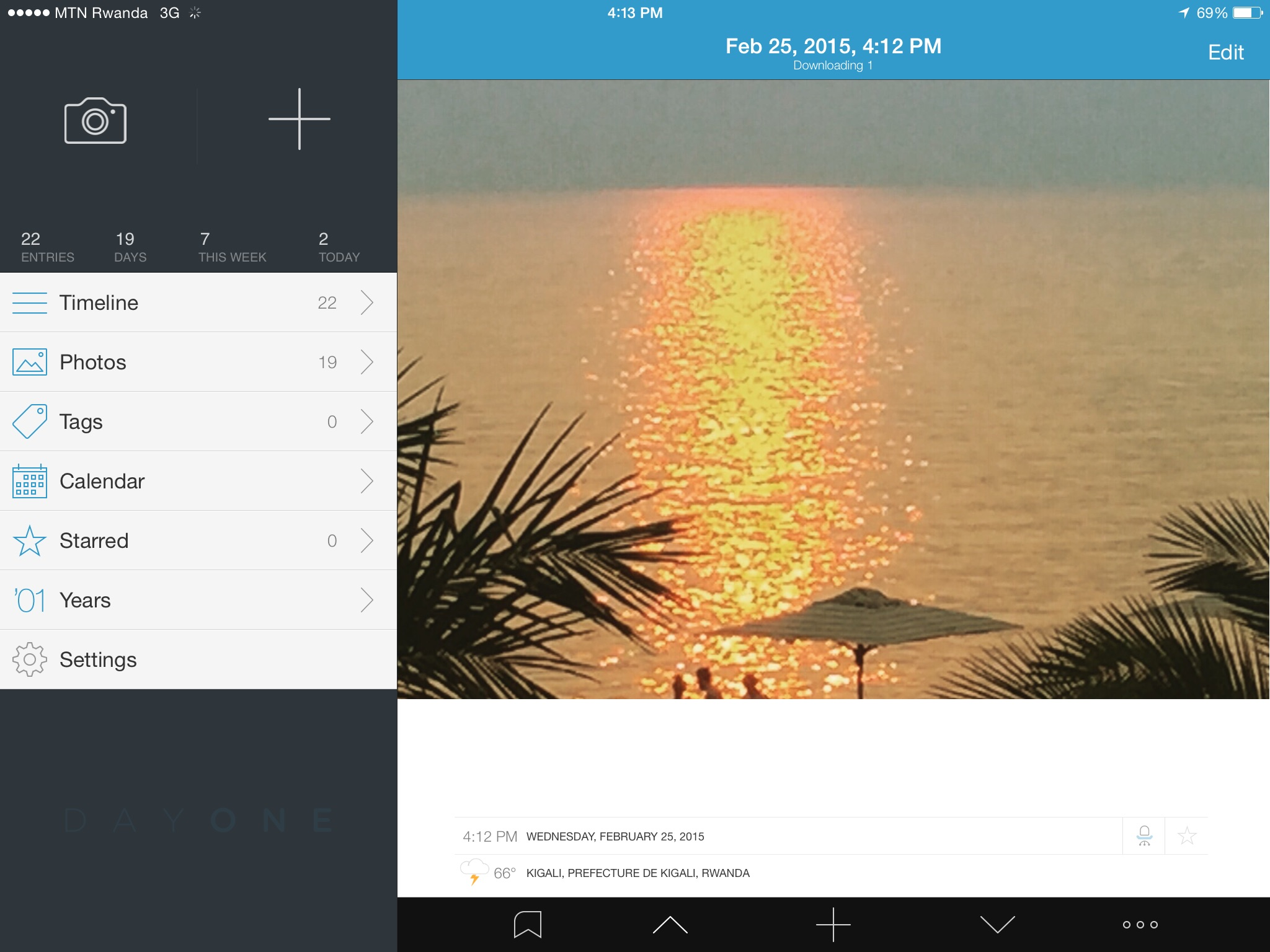 Elegant and powerful journaling app: Day One for iPad