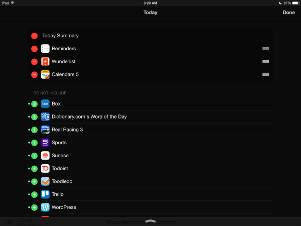 How to set-up and configure Notifications on your iPad