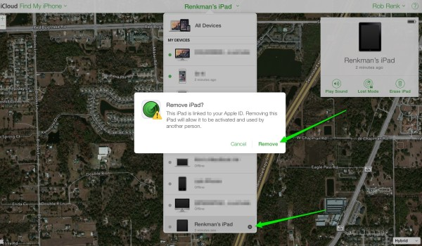 How to remove your device from Find my iPad | iPad Insight